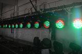 LEDによって19は4つの焦点のヘッド洗浄軽い段階の照明DJディスコの結婚式の照明がパーティを楽しむ