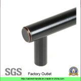 O petróleo de aço contínuo fricionou o punho de bronze do aparelhador do punho da tração da barra do gabinete de cozinha da mobília (T 237)