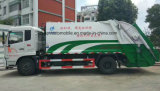venta caliente 4X2 carro de basura del compresor de 15 metros cúbicos carro del transporte de la basura de 15 T