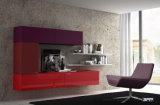 Hoher Glanz zwei Satz Lack kundenspezifische Fernsehapparat-Schrank-Schlafzimmer-Möbel