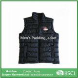 Revestimento do inverno dos homens, acolchoando a veste