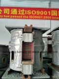 鋳造アルミの溶ける炉