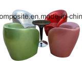 HandLayup Fiberglas-Kaffeetisch für die Landschaftsgestaltung der Büro-Gaststätte