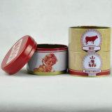 Kundenspezifischer runder Zinn-Kasten, Tee-Geschenk-Zinn-Kasten, drei Schichten runde Tee-Zinn-Kasten-