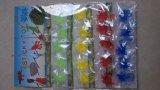 La plastica appiccicosa degli animali del yo-yo dei giocattoli elastici divertenti gioca i giocattoli del martello della meteora