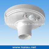 Socket del sostenedor de la lámpara de detección de la alta calidad E27 PIR