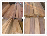 S4s impermeabilizan Decking al aire libre de la madera dura brasileña de la teca