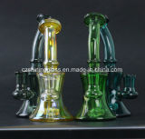 Parfait coloré et moins cher Factory Smoking Glass Water Pipe for Tabacco