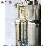 Bioreactor de vidro sanitário do fermentador do laboratório