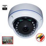 videosorveglianza Vandal-Proof del CCTV di IR della cupola di 1.3MP HD Ahd con l'obiettivo di occhio largo dei 130 di grado pesci di vista