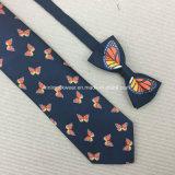 Ручной работы связи шеи 100% напечатанные шелком и натянутые луки
