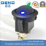 Electrica singolo Palo Switche sopra fuori sull'interruttore di attuatore momentaneo