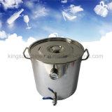 18L/5gallon DIY si dirigono la caldaia di fermentazione della strumentazione di distillazione dell'olio essenziale dell'acqua della birra