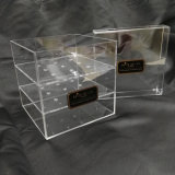 Wasserdichter freier Acrylblumen-Ablagekasten-/Rose-Verpackungs-Kasten