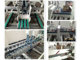 Pre-Plegable y causar un crash la carpeta inferior Gluer del papel acanalado del bloqueo con ISO9001