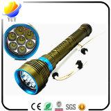 Lampe-torche électronique légère lumineuse contrôlable colorée