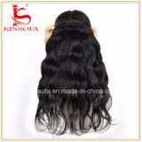 100%年の毛の拡張自然な人間の毛髪のブラジル人の毛