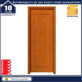 Portas modernas do painel de madeira composto de madeira contínuo interior