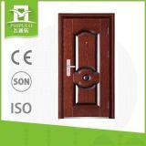 2017 fotos del diseño de la puerta principal utilizaron la puerta de acero española de la seguridad hecha en China