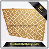 Het decoratieve Bekledingspaneel van de Muur van het Aluminium van de Besnoeiing van de Laser Met Ventilatie