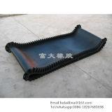 Nastro trasportatore di gomma infinito di Agricultral di Web site all'ingrosso della Cina e nastro trasportatore di gomma del tessuto ad alta resistenza di Nylon/Nn