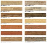 Mattonelle di legno della decorazione del pavimento di luccichio Tawny con la metallina rifinita