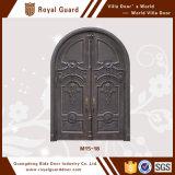 Puertas principales de aluminio inconsútiles de la puerta de la puerta de entrada del pasillo de la puerta del diseño del precio de fábrica de la alta calidad