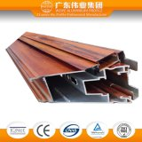 Perfiles de aluminio del grano de madera del traspaso térmico para Window&Doors con Ce/TUV 6063 T-5