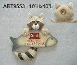 リスおよびFoxのクリスマスの装飾