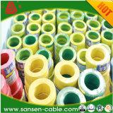 Câblage cuivre isolé par PVC Ningbo de câble électrique des prix 2.5mm de câble électrique du constructeur 1.5mm de la Chine/port de Changhaï