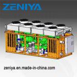 물 냉각장치 또는 식히는 단위 또는 나사 유형 냉각장치 또는 피스톤 유형 냉각장치
