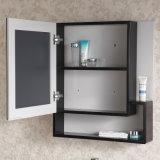 An der Wand befestigte festes Holz-Badezimmer-Eitelkeit mit Spiegel-Schrank