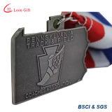 Médaille faite sur commande d'événement d'école d'usine avec la bande