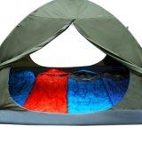 Barraca Backpacking promovida da pessoa 2-4 impermeável com 2 portas e Rainfly