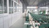 Tubo de acero inoxidable de En10216-5 X2crnimon22-5-3 1.4462