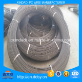 7.50 mm espiral costillas PC alambre de acero para cemento polacos