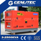 50Hz 30kVA 24kw Changchai CZ4012の無声ディーゼル発電機