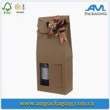 Изготовленный на заказ коробка упаковывая коробку Dongguan проштемпелеванную фольгой для Шампань