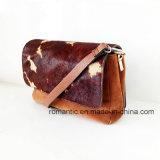 Jetzt vorbildliche Form-Dame Fur Leather Handbags (NMDK-052301)