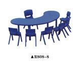 Justierbarer Plastik scherzt Tisch und Stuhl für Kindergarten-Schule