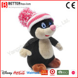 Rato macio do brinquedo da toupeira dos animais enchidos para o bebê