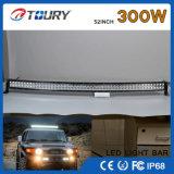 Barra clara do diodo emissor de luz da auto tira ao ar livre Offroad da luz do diodo emissor de luz do caminhão do CREE 300W