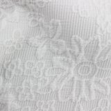 衣服のための標準的な花模様のジャカードファブリック