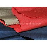 Tela de nylon lavada arena del algodón para la chaqueta