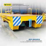 Equipo de manipulación de materiales dirigido carril del vehículo de 5 cargas pesadas de la tonelada