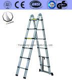 6steps二重StrightのEn 131アルミニウム梯子