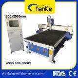 cortadora de madera del grabado del ranurador del CNC de la carpintería de la puerta de la cabina el repujado 3D