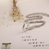 영화 주제 금속 반지 펀던트 목걸이 반지 원형 고리 보석 선물의 주