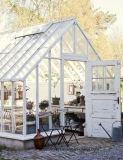 Vivienda vidrio templado techo de aluminio Solario / habitación solar / casa de cristal