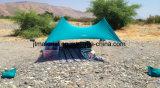Шатер тени пляжа Lycra шатра Neso шатра пляжа навеса Otentik водоустойчивый напольный с мешками песка